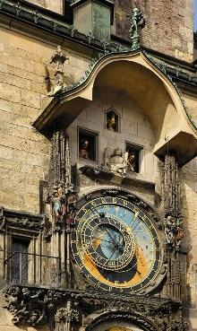 Staroměstský orloj (Mikuláš z Kadaně, 1410; Mistr Hanuš, 1490), foto: Libor Sváček, archiv Vydavatelství MCU s.r.o.