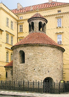 Rotunda of the Holy Cross, photo by: Libor Sváček, archiv Vydavatelství MCU s.r.o.