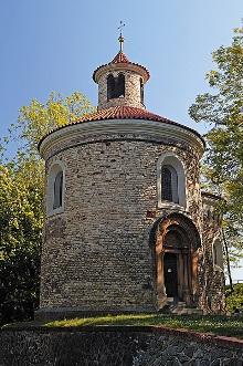 Rotunde des Hl. Martin, Foto: Libor Sváček, archiv Vydavatelství MCU s.r.o.