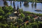 Hl. Peter-und-Pauls-Kirche auf dem Vyšehrad, Foto: Libor Sváček, archiv Vydavatelství MCU s.r.o.