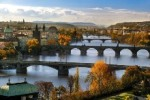 Autumn atmosphere with the Vltava and Prague bridges, photo by: Libor Sváček, archiv Vydavatelství MCU s.r.o.