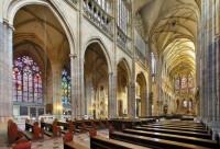 Interior of St. Vitus's Cathedral, photo by: Libor Sváček, archiv Vydavatelství MCU s.r.o.