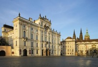 Архиепископский дворец на Градчанской площади (Ж. Б. Матэ, 1722–25),  Libor Sváček, archiv Vydavatelství MCU s.r.o.