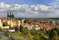 View from Strahov, photo by: Libor Sváček, archiv Vydavatelství MCU s.r.o.