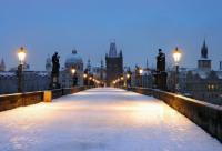 Карлов мост зимой,  Libor Sváček, archiv Vydavatelství MCU s.r.o.