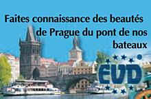 Croisières sur les navires et les bateaux à vapeur Prague