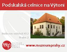 Podskalská celnice na Výtoni - Muzeum hl. města Prahy