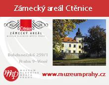 Zámecký areál Ctěnice - Muzeum hl. města Prahy