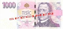 1 000 CZK - František Palacký (1798-1876) Scientist and historian - he recorded the national history. An important figure in Bohemian cultural and political life., photo by: Česká národní banka