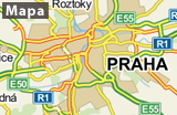 Praha na mapě_CZ