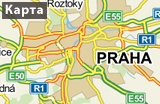 Prague on the Map_RUS, source: mapy.cz