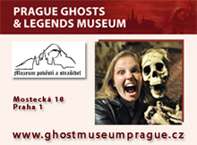 Museum of Alchemists and Magicians of Old Prague and Prague Ghosts and Legends Museum, source: Vydavatelství MCU s.r.o.