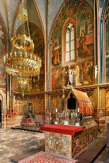Chapel of St. Wenceslas, patron saint and eternal ruler of the Czech Lands (1367), photo by: Libor Sváček, archiv Vydavatelství MCU s.r.o.