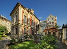 Villa Amerika (1712 - 20) - Museum des Komponisten A. Dvořák, Foto: Libor Sváček, archiv Vydavatelství MCU s.r.o.