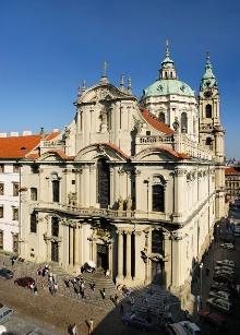 Sankt-Nikolaus-Kirche (1704 - 60), Foto: Libor Sváček, archiv Vydavatelství MCU s.r.o.