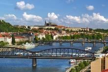Prager Burg - Panoramabild, Foto: Libor Sváček, archiv Vydavatelství MCU s.r.o.