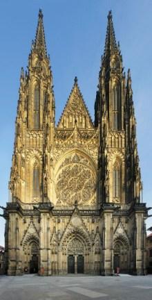 Novogotické západní průčelí katedrály sv. Víta, foto: Libor Sváček, archiv Vydavatelství MCU s.r.o.