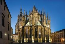 Chór s věncem kaplí (Matyáš z Arrasu, 1342 - 44; P. Parléř, 1356 - 99), foto: Libor Sváček, archiv Vydavatelství MCU s.r.o.